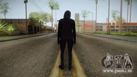 GTA 5 Heists DLC Female Skin 1 für GTA San Andreas dritten Screenshot