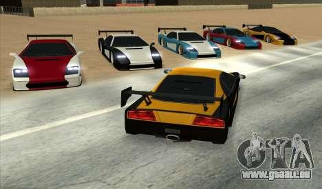 Turismo Major Ver.2 pour GTA San Andreas laissé vue