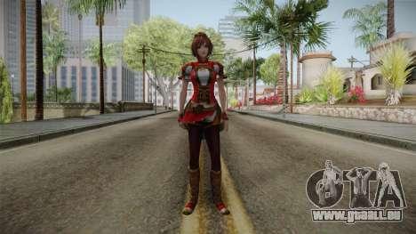 Dynasty Warriors 8 - Sun ShangXiang Remade für GTA San Andreas zweiten Screenshot