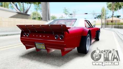 GTA 5 Declasse Tampa Drift IVF pour GTA San Andreas laissé vue