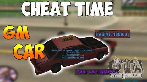 GM CAR für GTA San Andreas