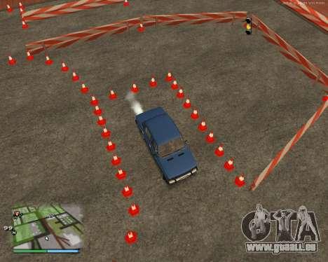 Die Schaltung, wie in der Fahrschule für GTA San Andreas siebten Screenshot