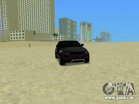 Range Rover Evoque pour GTA Vice City