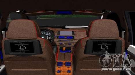 BMW 750i Smotra Kiev pour GTA San Andreas sur la vue arrière gauche
