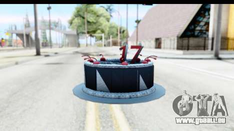 Han Farhan Cake Grenade für GTA San Andreas dritten Screenshot