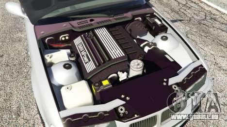 GTA 5 BMW 328i (E36) M-Sport [replace] hinten rechts