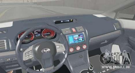 Subaru WRX STI LP400R 2016 pour GTA San Andreas vue de droite