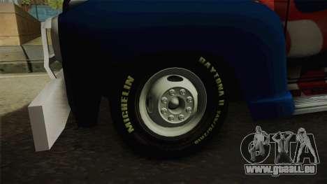 GMC 4100 1950 GRUA pour GTA San Andreas vue arrière