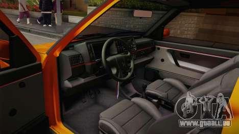 Volkswagen Golf Mk2 GTI .ILchE STYLE. pour GTA San Andreas vue arrière