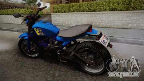 GTA 5 Pegassi Esskey pour GTA San Andreas laissé vue