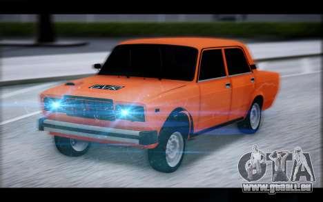 VAZ 2105 patch 2.0 pour GTA San Andreas