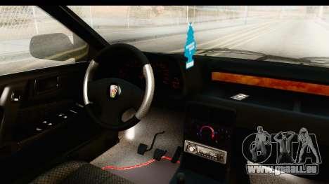 Rover 220 Kent Edition pour GTA San Andreas vue intérieure