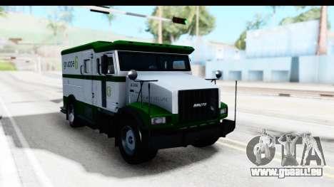 GTA 5 Stockade v1 IVF für GTA San Andreas rechten Ansicht