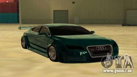 AUDI A7 SPORTS pour GTA San Andreas