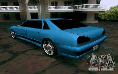 Elegy Sedan für GTA San Andreas rechten Ansicht