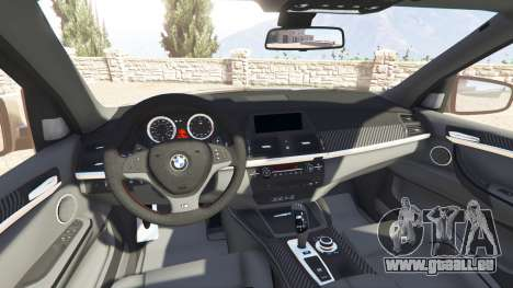 GTA 5 BMW X5 M (E70) 2013 v1.2 [add-on] avant droite vue de côté