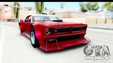 GTA 5 Declasse Tampa Drift IVF für GTA San Andreas