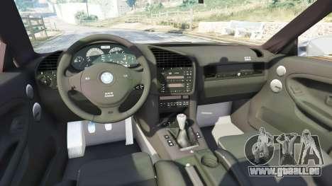 GTA 5 BMW 328i (E36) M-Sport [replace] rechte Seitenansicht