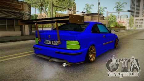Rover 220 Bozgor Edition pour GTA San Andreas laissé vue