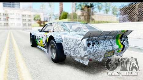 GTA 5 Declasse Tampa Drift IVF pour GTA San Andreas roue