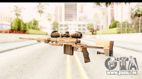 Cheytac M200 Intervention Tan für GTA San Andreas zweiten Screenshot