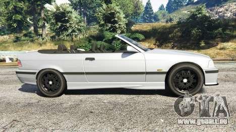 GTA 5 BMW 328i (E36) M-Sport [replace] linke Seitenansicht