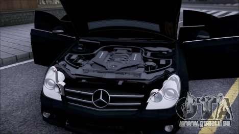 Mercedes-Benz Cls 630 pour GTA San Andreas vue de droite