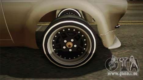 Jaguar Broadspeed XJC pour GTA San Andreas vue de droite