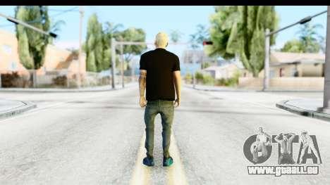 Blonde Messi pour GTA San Andreas troisième écran