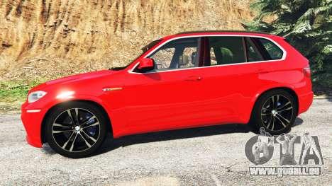 GTA 5 BMW X5 M (E70) 2013 v0.3 [replace] linke Seitenansicht