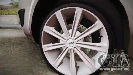 Renault Scenic II für GTA San Andreas zurück linke Ansicht