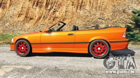 GTA 5 BMW 328i (E36) M-Sport v1.1 [replace] vue latérale gauche