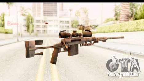 Cheytac M200 Intervention Black pour GTA San Andreas deuxième écran
