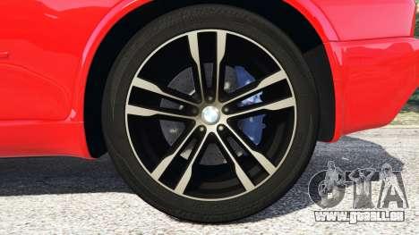GTA 5 BMW X5 M (E70) 2013 v0.3 [replace] hinten rechts