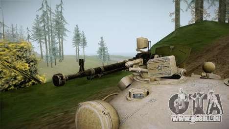 T-62 Desert Camo v1 pour GTA San Andreas vue arrière