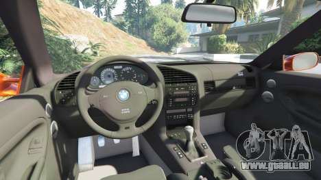 GTA 5 BMW 328i (E36) M-Sport v1.1 [replace] droite vue latérale