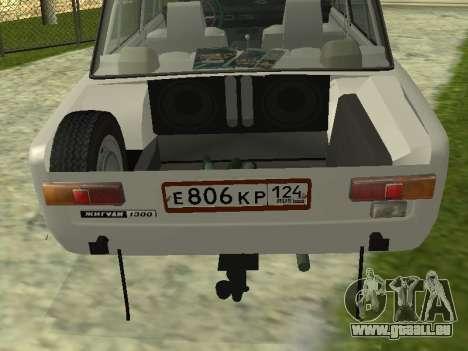VAZ 21013 124RUS pour GTA San Andreas sur la vue arrière gauche