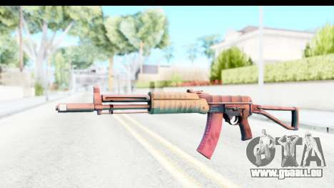 AEK-971 pour GTA San Andreas deuxième écran