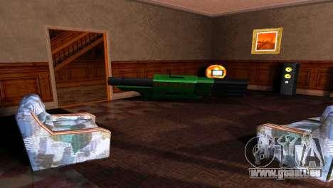 BAZUKA RLX-9157 pour GTA San Andreas cinquième écran