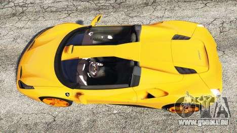 GTA 5 Ferrari 488 Speedster 2016 [replace] Rückansicht