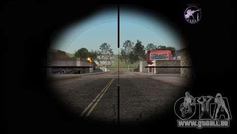 Heavysniper rifle pour GTA San Andreas troisième écran