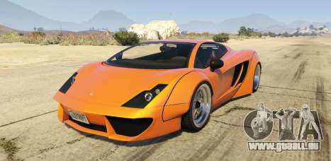 Pegassi Vacca RocketCow Widebody für GTA 5