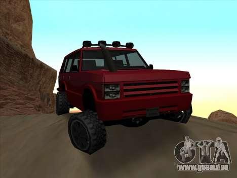 Huntley Offroad pour GTA San Andreas
