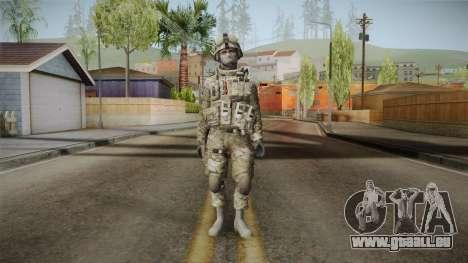 Multicam US Army 4 v2 pour GTA San Andreas deuxième écran
