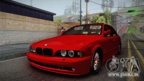 BMW 530d E39 Red Black pour GTA San Andreas