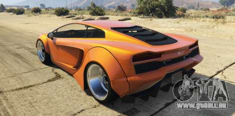 Pegassi Vacca RocketCow Widebody für GTA 5
