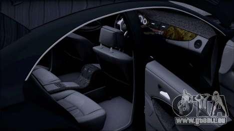 Mercedes-Benz Cls 630 pour GTA San Andreas vue de dessus