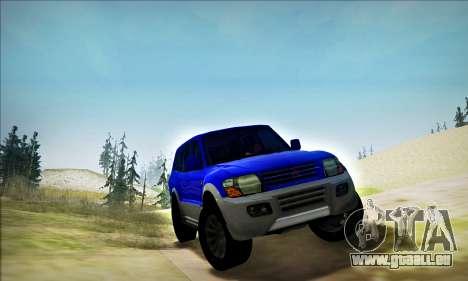 Mitsubishi Pajero 3 Beta für GTA San Andreas linke Ansicht