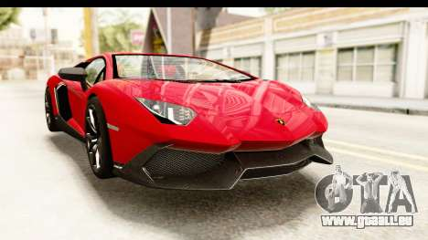 Lamborghini Aventador LP720-4 2013 für GTA San Andreas rechten Ansicht