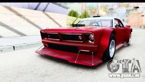 GTA 5 Declasse Tampa Drift IVF pour GTA San Andreas vue de droite